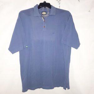 Tommy Bahama sky blue polo men's shirt M